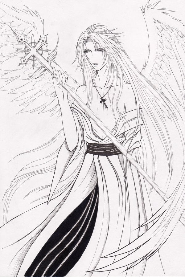 600x899 Male Angel By Xoriu