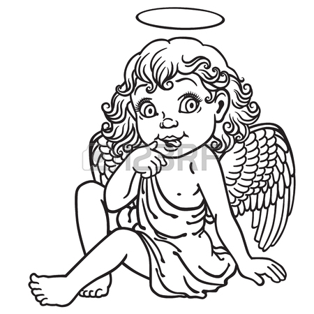 450x450 Angels Cartoon Stock Photos Amp Pictures. Royalty Free Angels