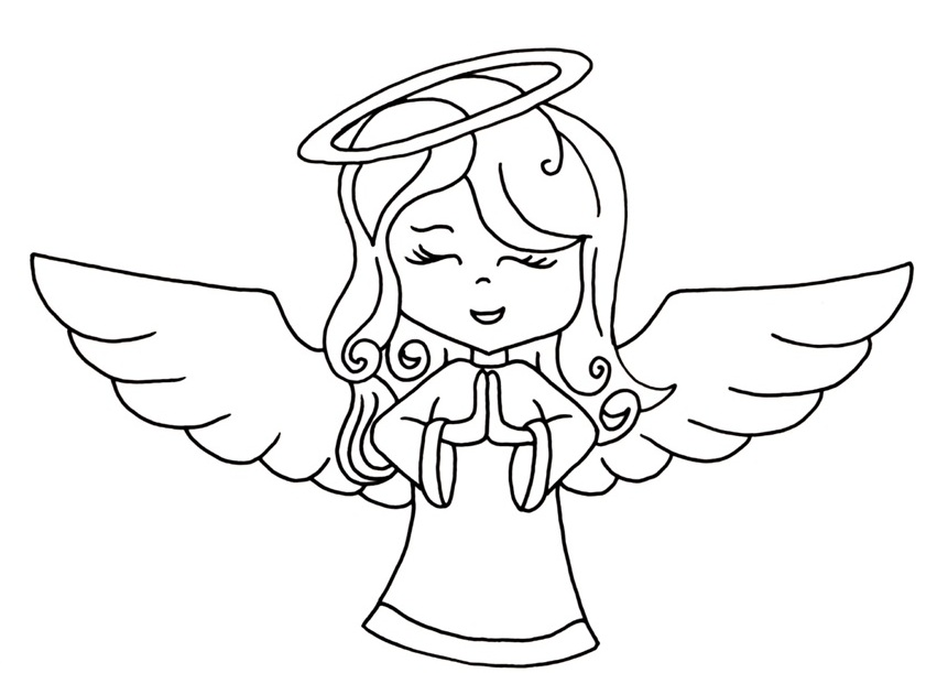 Angel Drawing Cartoon At Getdrawings Com Free For Personal Use
