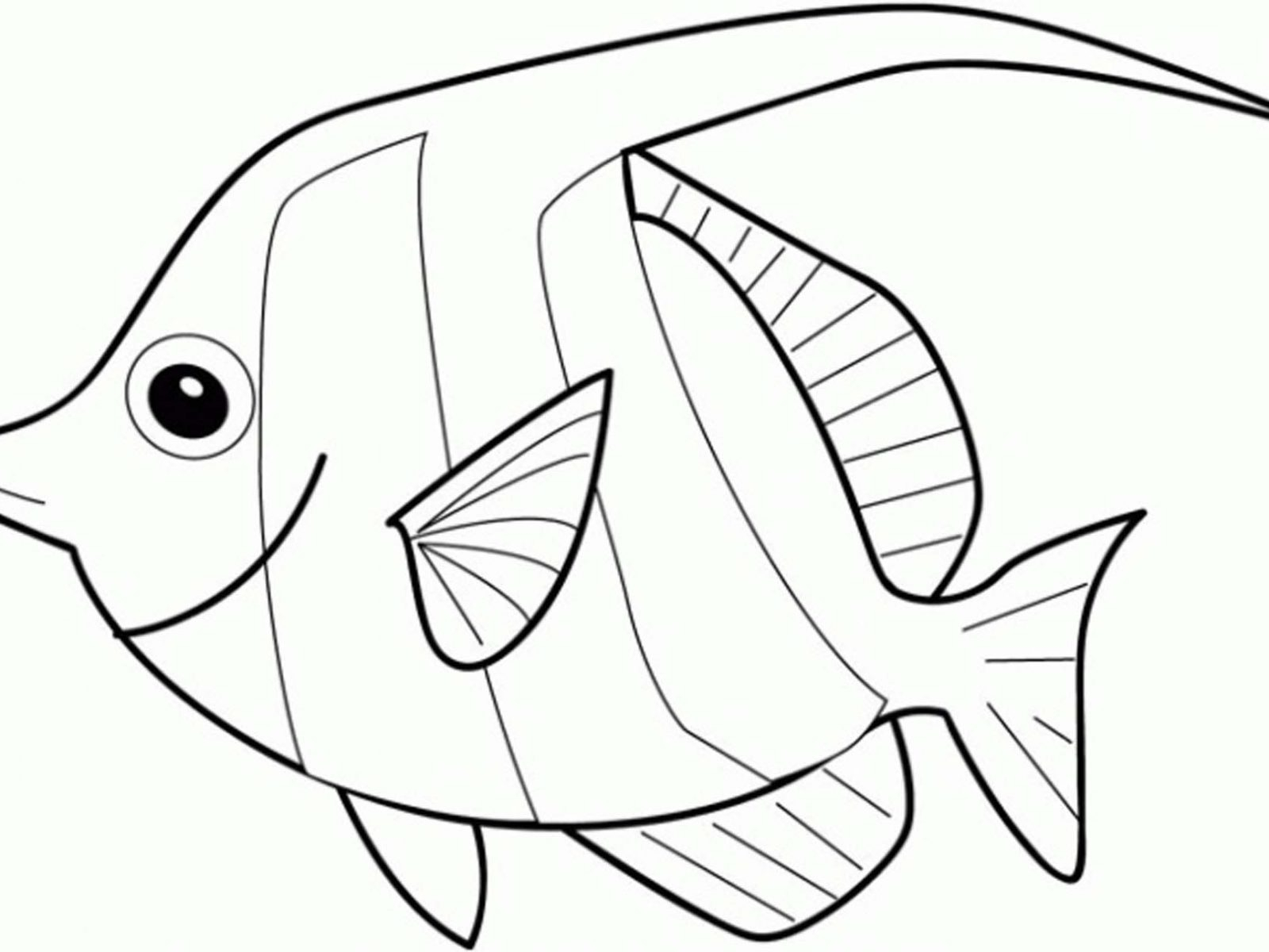 1600x1200 Angel Fish Coloring Page Angel Fish Coloring Page Angel Fish