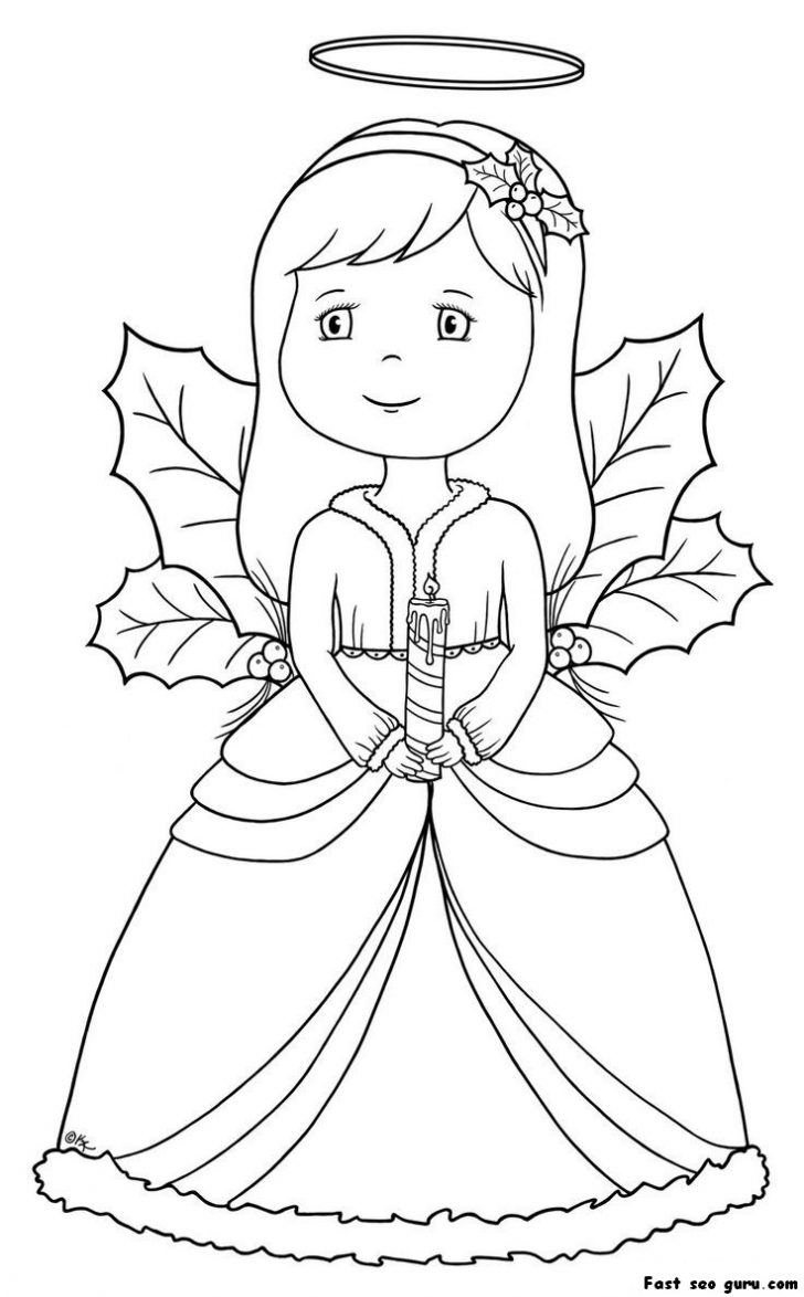 728x1174 Angel Pictures To Print Free Allofpicts