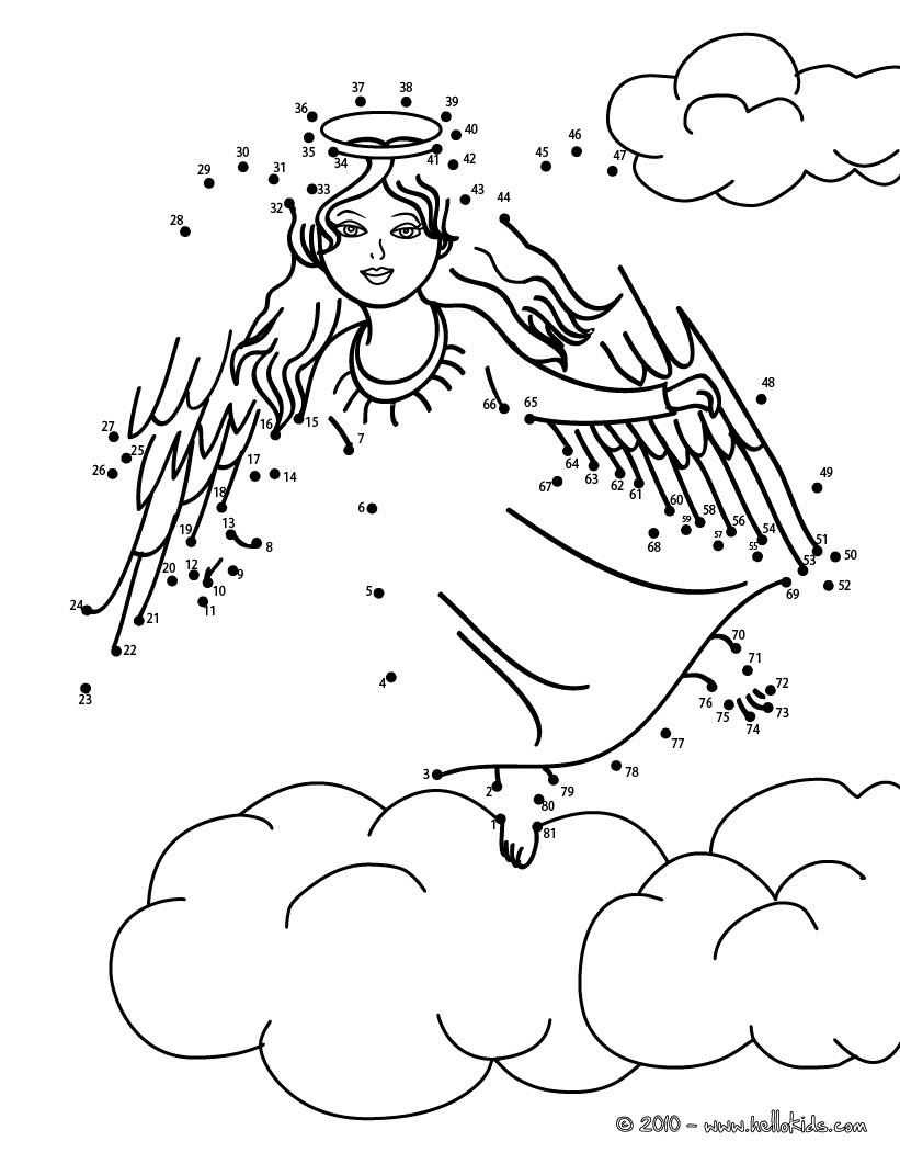 weihnachten sketch engel nikolaus