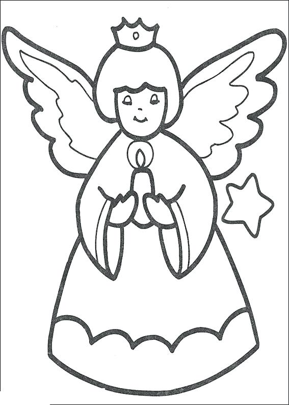 567x794 Coloring Pages For Kids Christmas Omnitutor.co