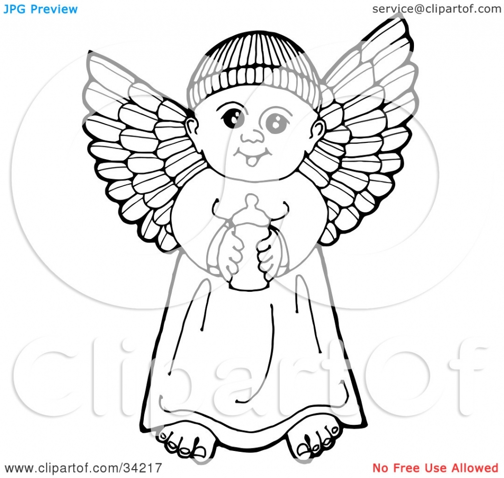 1024x970 Baby Angel Pencil Drawing Baby Angel Drawings