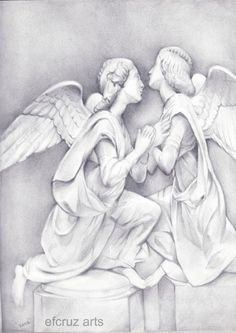 236x333 How To Draw Two Angels Kissing Angels Angel