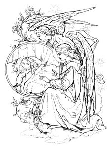 Angel Drawing Pictures