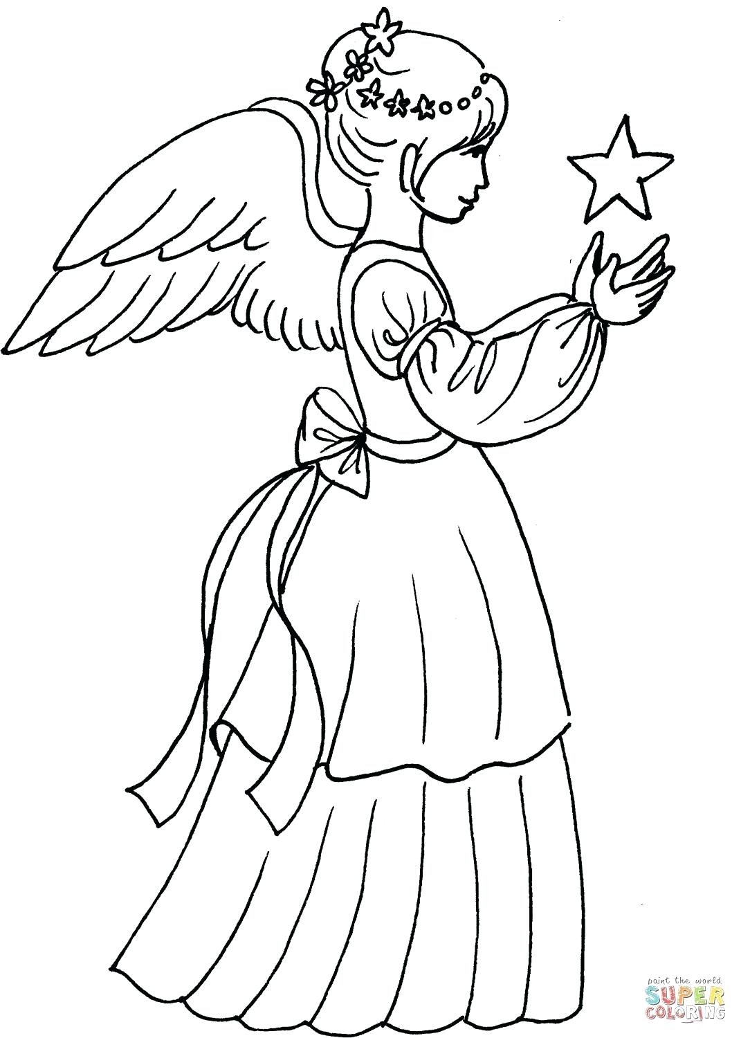 1071x1500 Coloring Coloring Page Angel