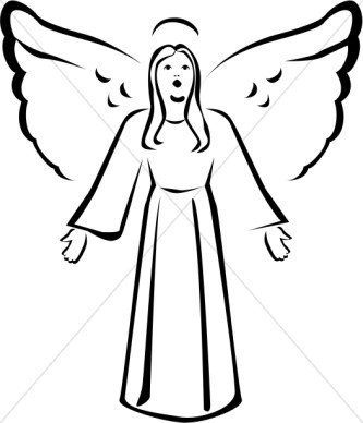 333x388 Angel Clipart