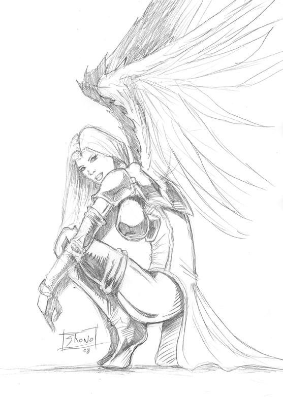 557x782 Angel Drawings Sketches Images Free Download
