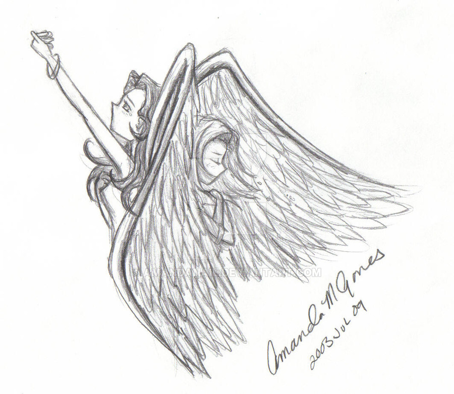 900x781 Angel Sketches By Amandanail