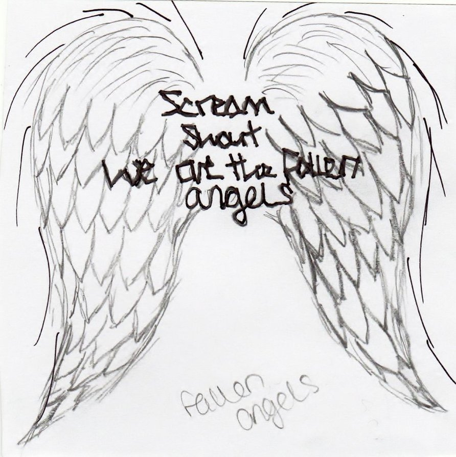892x895 Fallen Angels Tattoo By Katm13