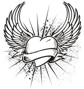 357x380 Tattoo Donkey Angel Tattoos(6)