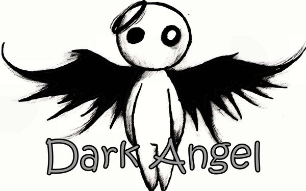 600x375 Dark Angel By Red Roses