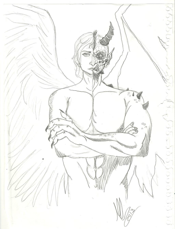 1024x1338 Angeldemon By Maluartist28