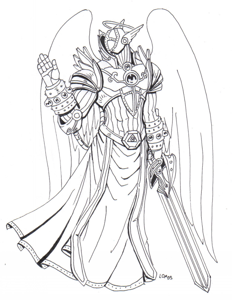 774x1000 Arch Angel Gabriel By Lorddragonmaster On Drawing