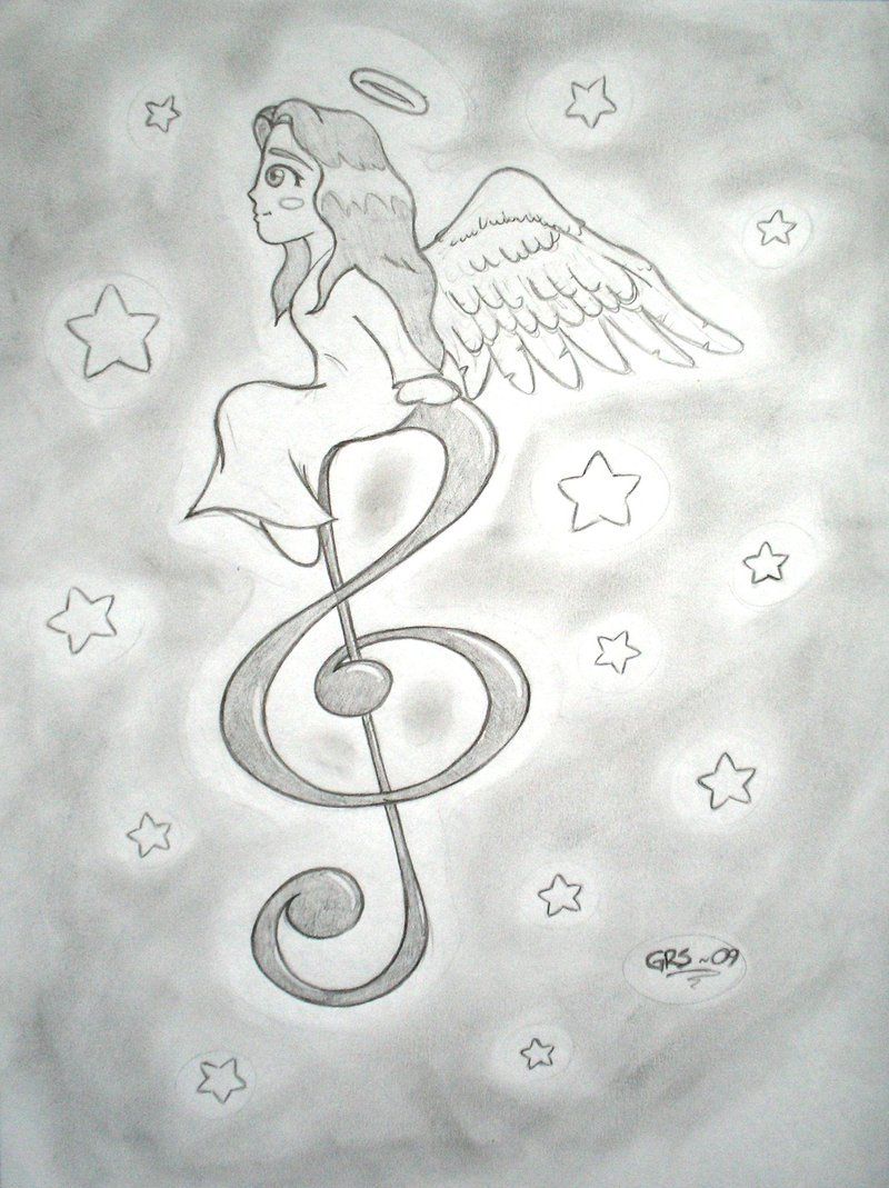 800x1069 Music Angel
