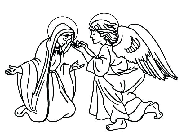 Archangels Coloring Pages