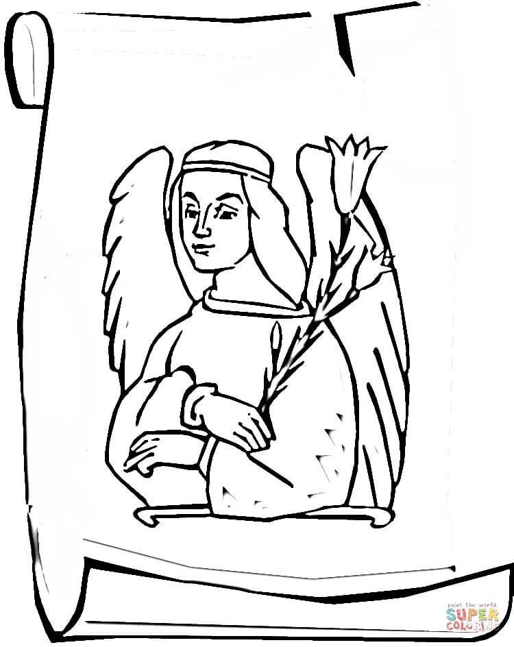 750x944 Picture Of Archangel Gabriel