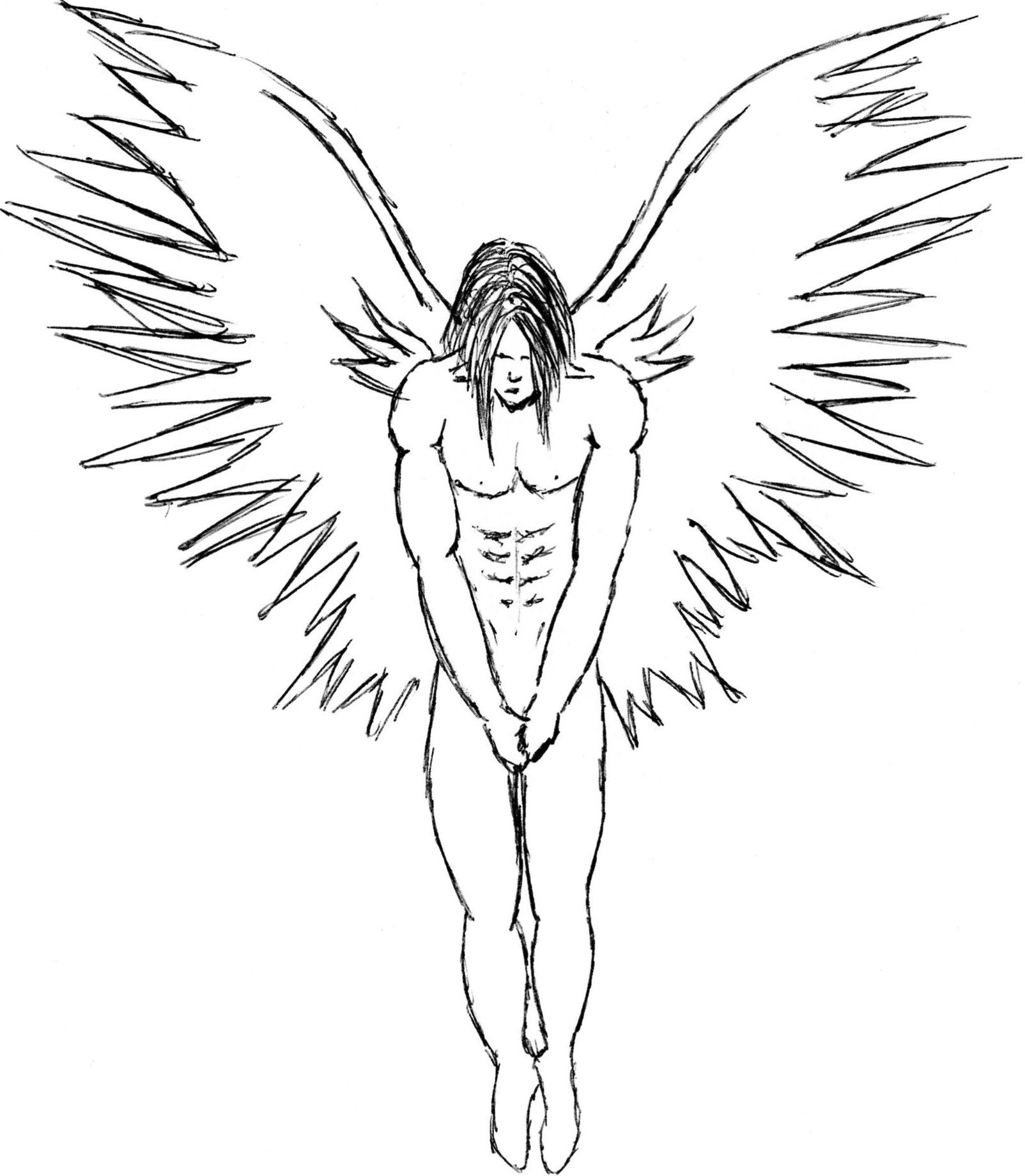 1604x1840 Angel Gabriel Mk1 By Jamespeacock On Drawing