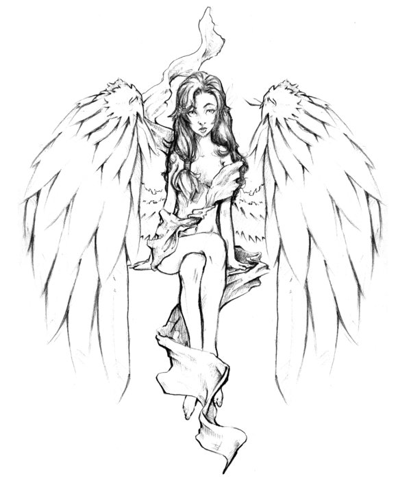600x702 Angel By Patricks Artist On Angel Fantasy Myth