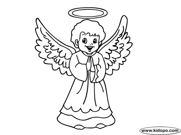 630x470 40 Best Angel With Halo Tattoo Outline Images