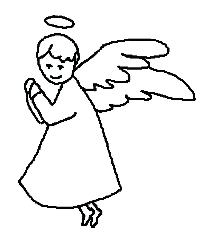 875x1000 Coloring Coloring Angel