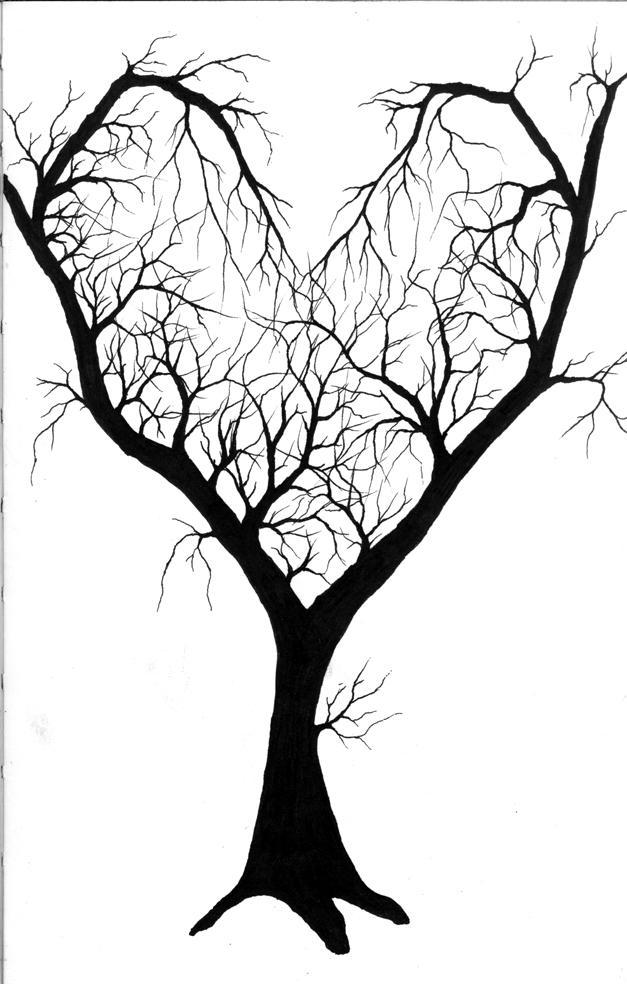 627x984 Heart Tree By Livid Angel
