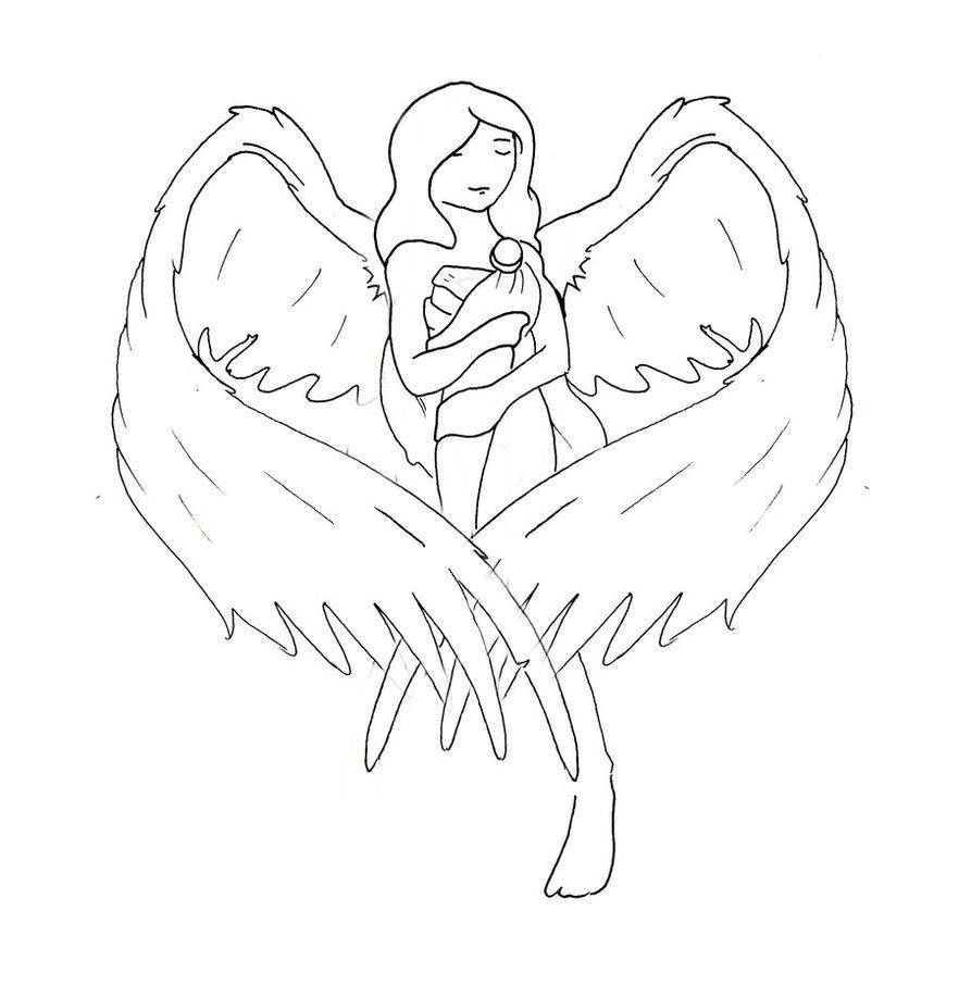 882x906 Angel Heart Ii By Yzarc