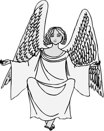 360x454 Heavenly Drawings Of Angel Wings These Will Take You To New Heights