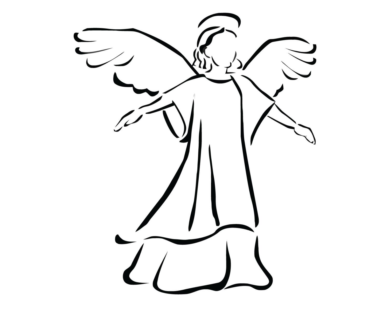 1500x1200 Angel Decal Angel Sticker Angel Praying Decal Christian