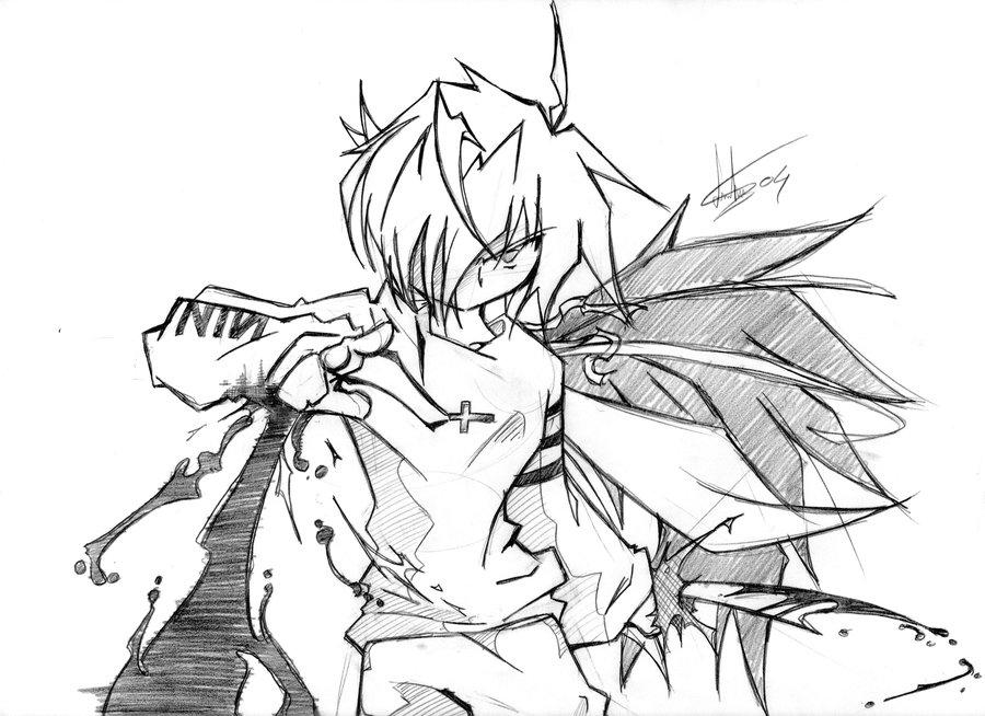 900x654 Dark Angel Pencil By Haysey84