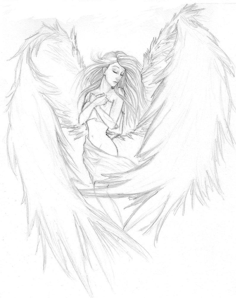 795x1006 Angel Tattoo Wip By Gearsgirl6295