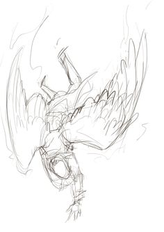 236x333 How To Draw Demon Wings