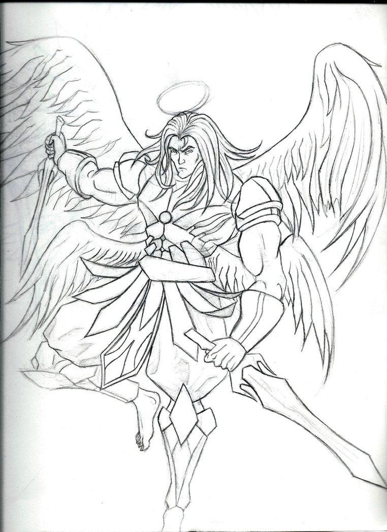 762x1048 Angel Warrior Male By Armageddon777