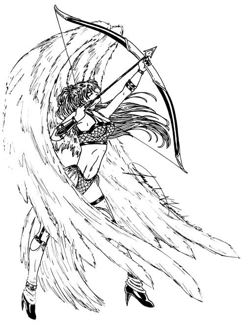 493x659 Warrior Angel