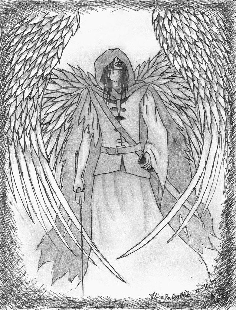 780x1024 Warrior Angel By Eirsensei