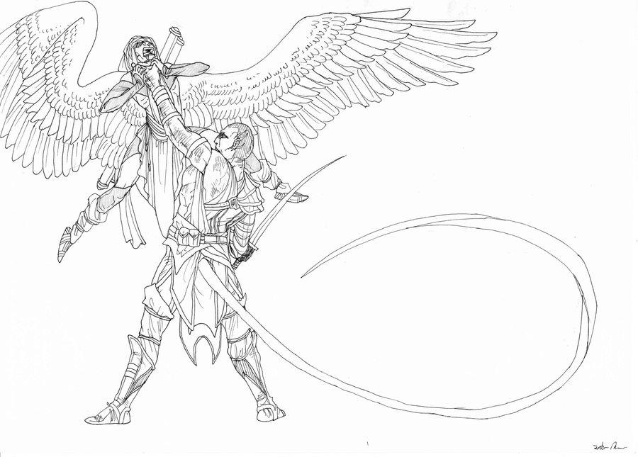 900x645 Angelwarrior Thing By Oogreenballoonoo