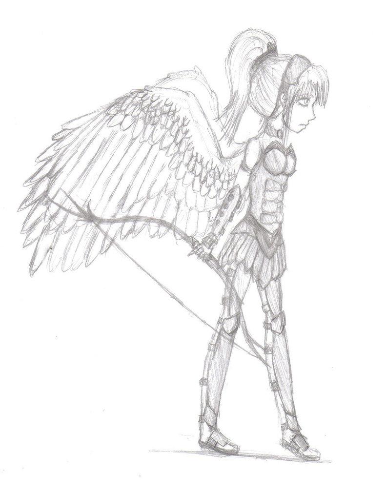 791x1010 Angel Warrior By My Inner Emo46176