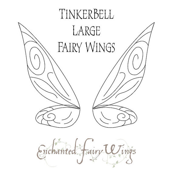 570x570 Pattern And Tutorial For Tinkerbell Adult Costume Fairy Wings