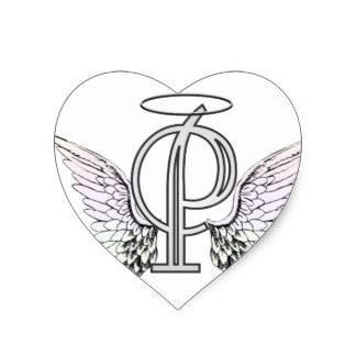 324x324 Angel Wings With Halo Stickers