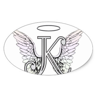 324x324 Angel Wings With Halo Stickers Zazzle