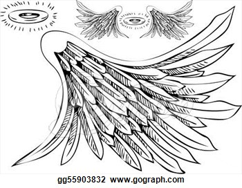350x272 Halo And Angel Wing Clipart