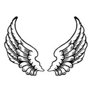 angel wings and halo drawing at getdrawings com free for personal rh getdrawings com angel wings clip art you can add a picture to angel wings clip art free download