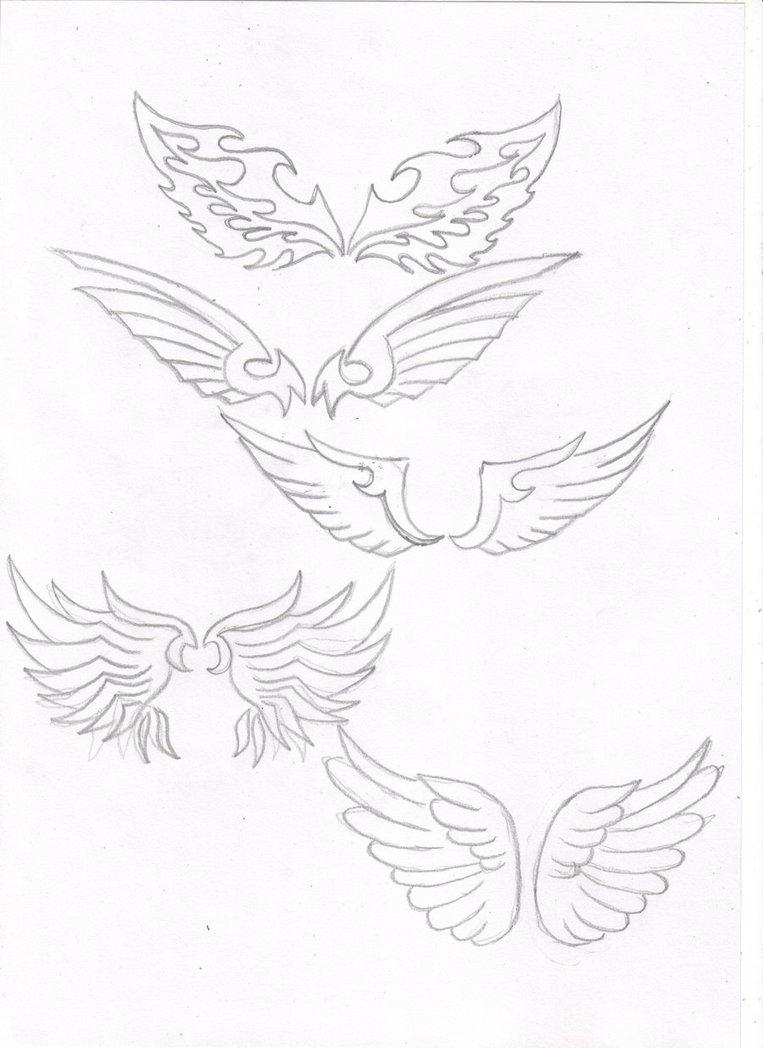 763x1048 Angel Wings Tribal By Segafan15