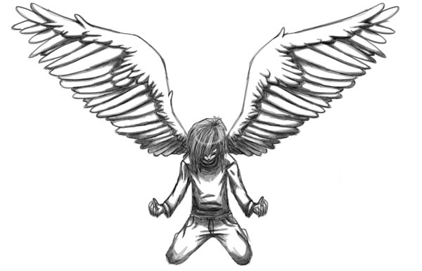 600x385 Spread Your Angel Wings Mate. By Jinkyjsn