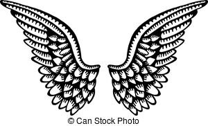 300x182 Angel Wings Stock Illustration Images. 20,213 Angel Wings