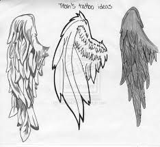 Angel Wings Drawing Tutorial