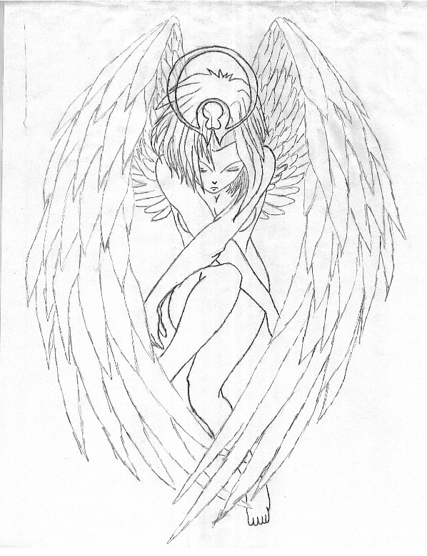598x778 Photos Drawings Of Female Angels,