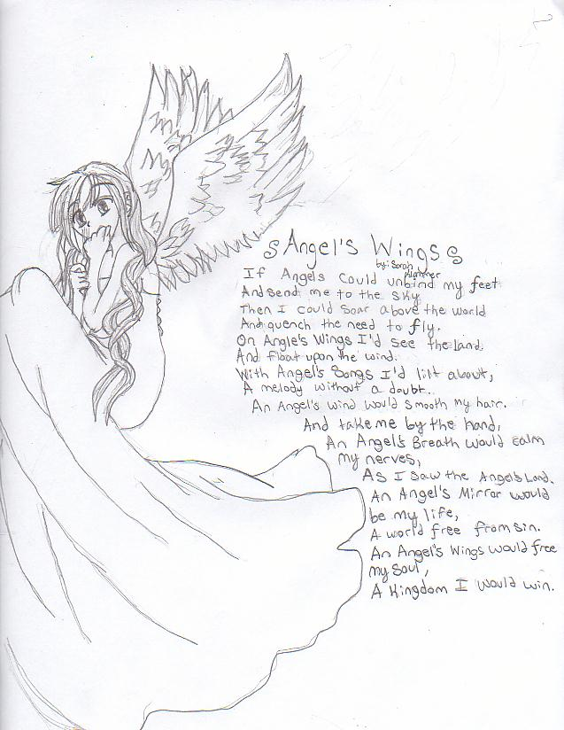 637x824 Angel Wing Poems Poems
