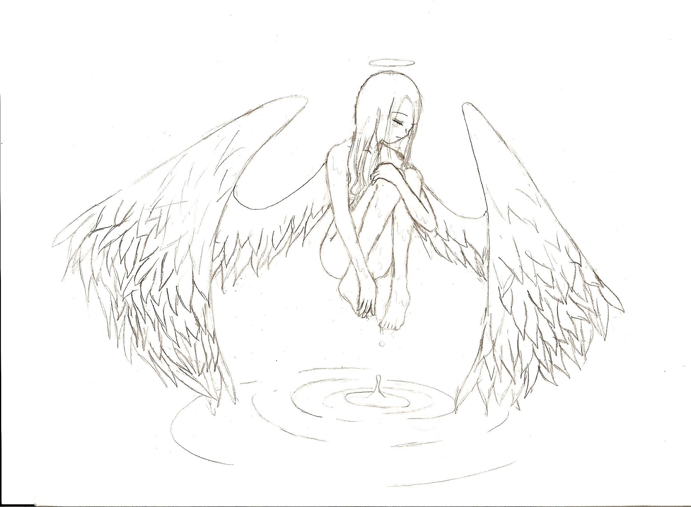 2288x1680 Pencil Drawings Of Angel Wings